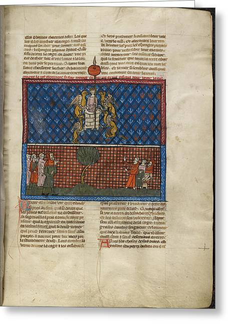 Alexander The Great Greeting Card by British Library
