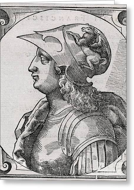 Alexander The Great, King Of Macedon Greeting Card