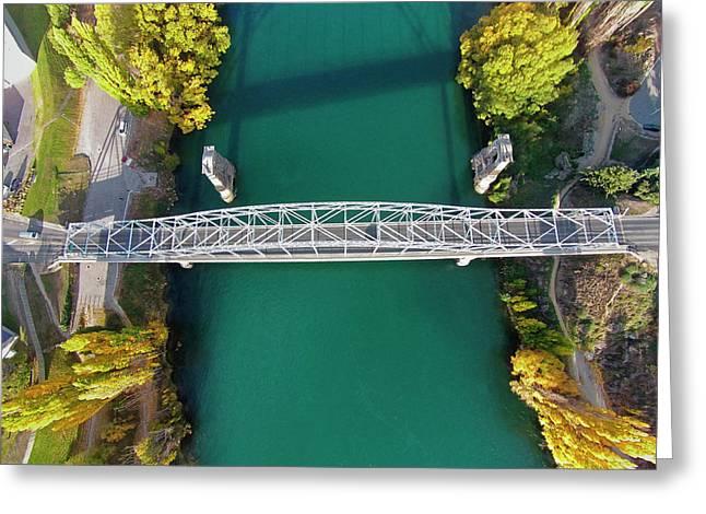 Alexandra Bridge And Clutha River Greeting Card