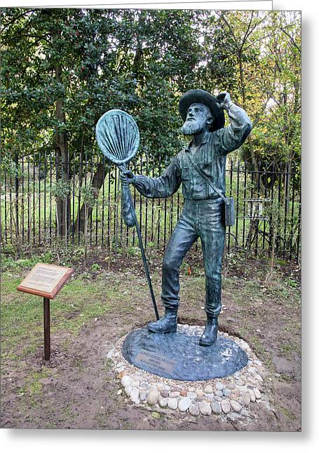 Alfred Russel Wallace Statue Greeting Card