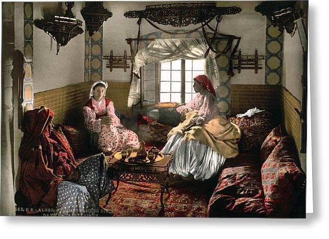 Algiers Women, C1899 Greeting Card by Granger