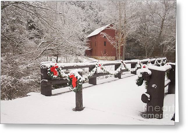 Alley Mill Greeting Card