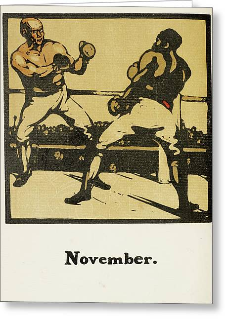 Almanac Of Sports For 1897 Greeting Card