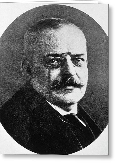 Alois Alzheimer Greeting Card by National Library Of Medicine