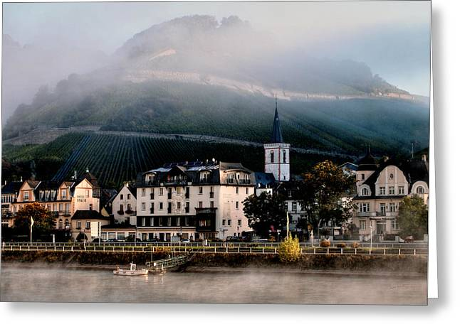 Greeting Card featuring the photograph Along The Rhine by Jim Hill
