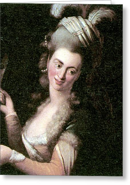 Aloysia Weber Lange (c1760-1839) Greeting Card by Granger