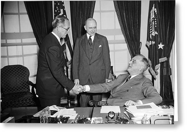 Ambassador Kennedy Greeting Card