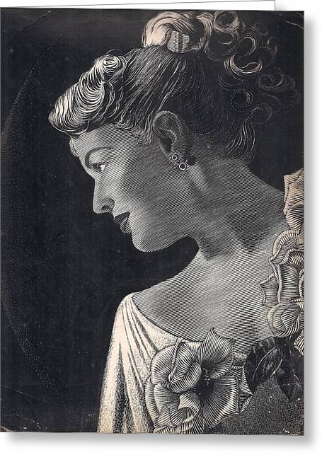 American Beauty Greeting Card by Tulsidas Tilwe