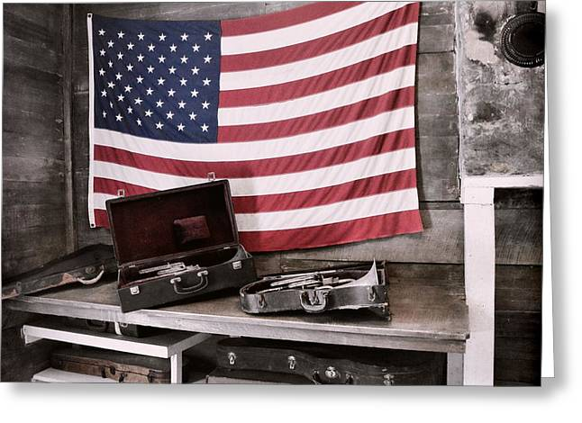 American Tradition Greeting Card by JAMART Photography