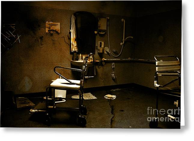 Amputation House Greeting Card by Jorgo Photography - Wall Art Gallery