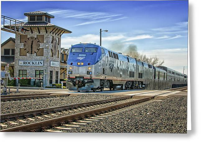 Amtrak 112 Greeting Card