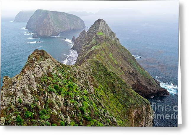 Anacapa Panorama Greeting Card