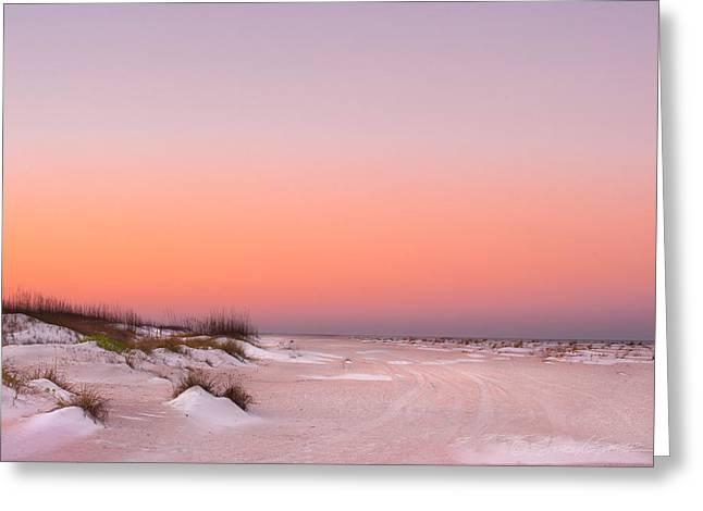 Anastasia Beach Sunset Greeting Card