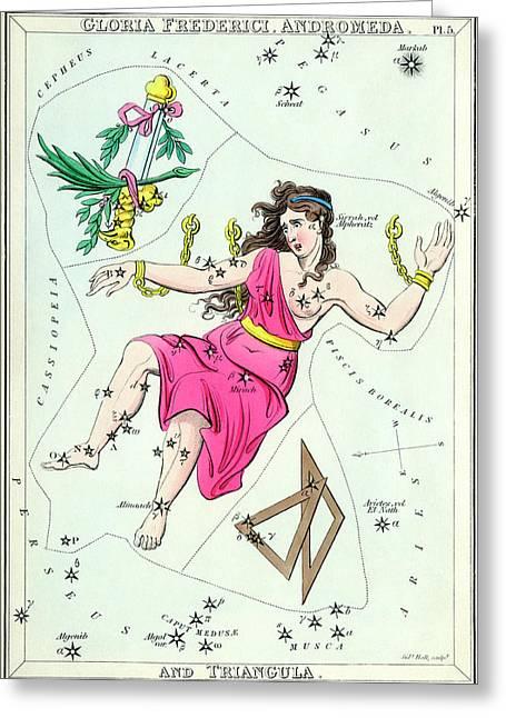 Andromeda Constellation Greeting Card