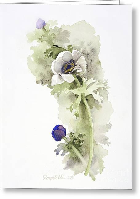 Anemone 4 Greeting Card