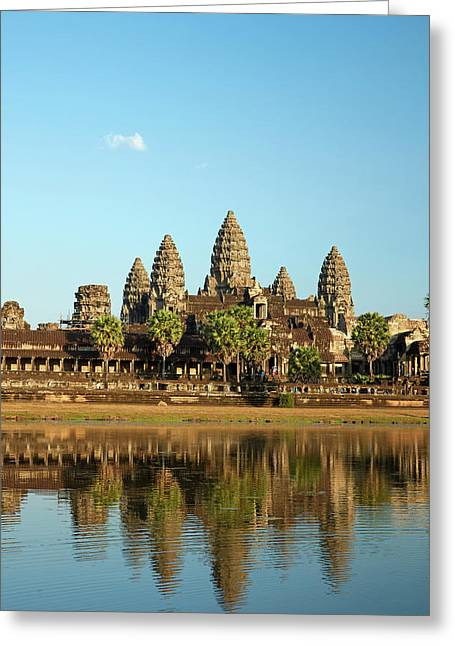 Angkor Wat Temple Complex (12th Century Greeting Card