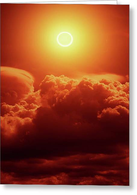 Annular Solar Eclipse Greeting Card