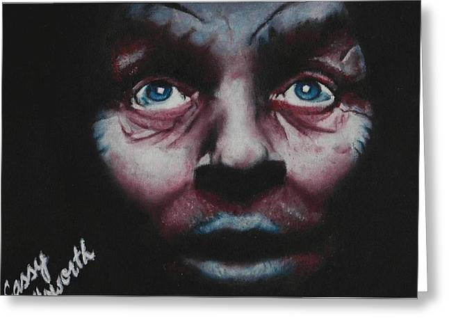 Anthony Hopkins Greeting Card