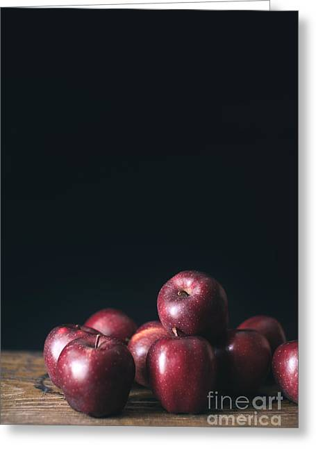 Apples Greeting Card by Viktor Pravdica