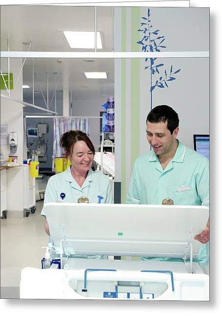 Apprentice Clinical Support Workers Greeting Card by Lth Nhs Trust
