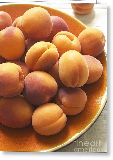 Apricots Greeting Card by Jon Stokes