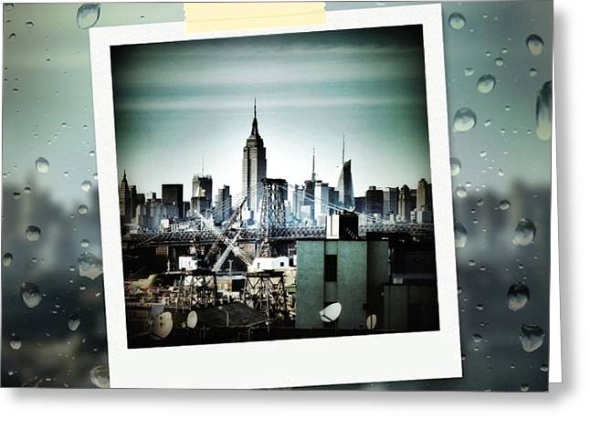 April In Nyc Greeting Card