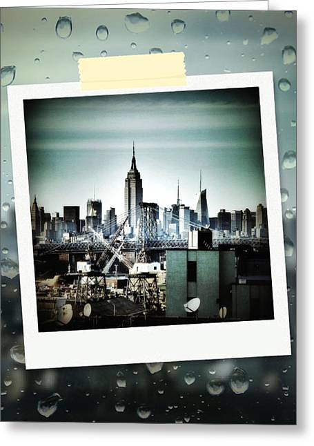 April In Nyc Greeting Card by Natasha Marco