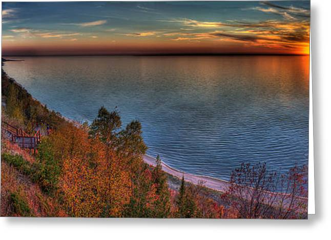 Arcadia Sunset Greeting Card by Twenty Two North Photography