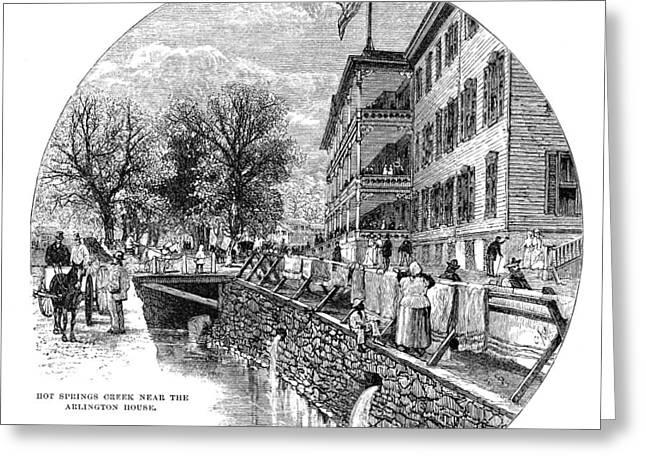 Arkansas Hot Springs Greeting Card by Granger