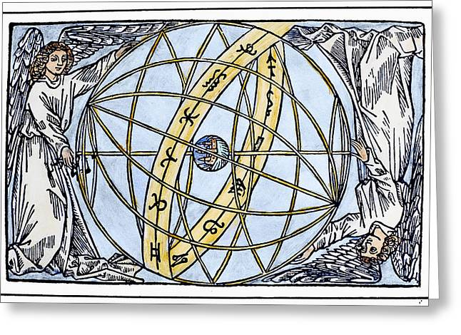 Armillary Sphere, 1509 Greeting Card by Granger