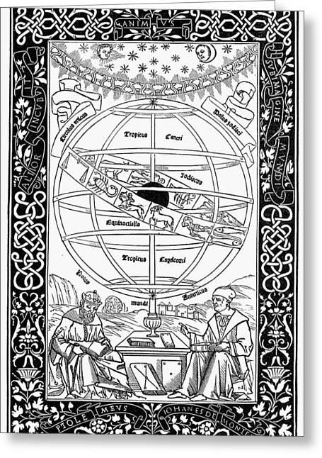 Armillary Sphere, 1543 Greeting Card