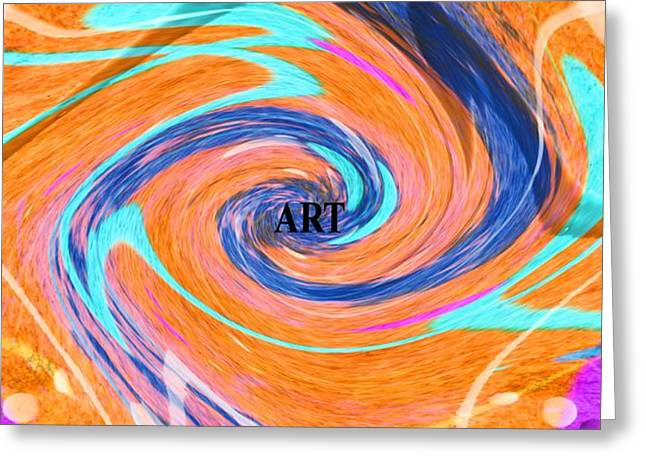 Art Greeting Card by Dan Sproul