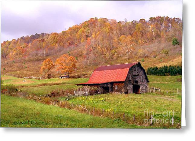 Ashe County Barn Greeting Card