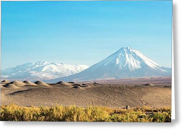 Atacama Landscape Greeting Card by Peter J. Raymond