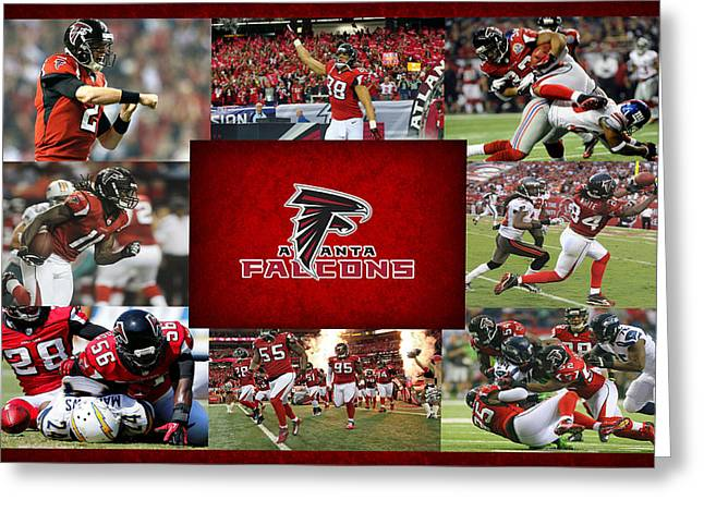 Atlanta Falcons Greeting Card