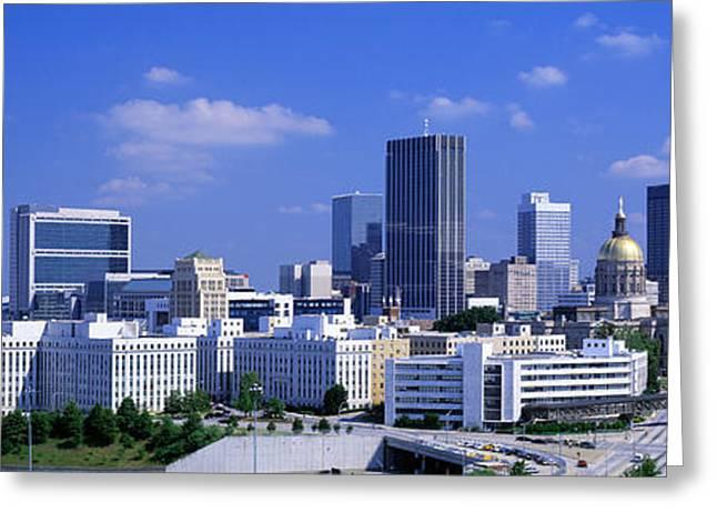 Atlanta, Georgia, Usa Greeting Card