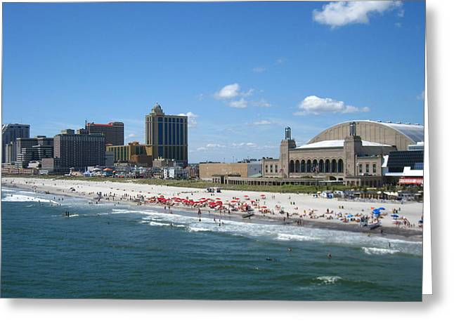 Atlantic City - 01136 Greeting Card by DC Photographer