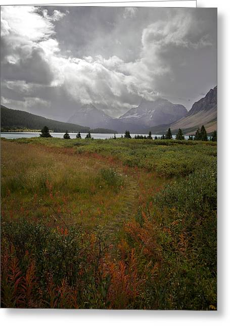 Greeting Card featuring the photograph Atmosphere by Jane Melgaard