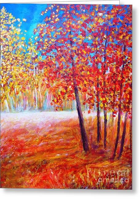 Autumn Greeting Card