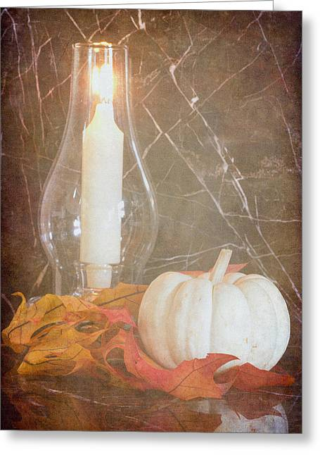 Greeting Card featuring the photograph Autumn Light by Heidi Smith