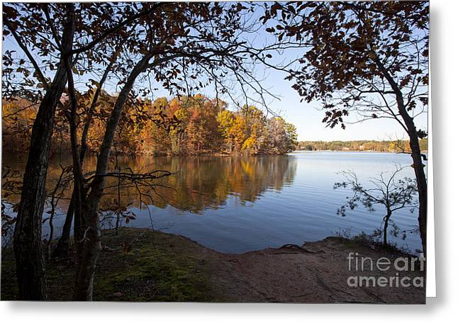 Autumn On Lake Norman Greeting Card by Jonathan Welch