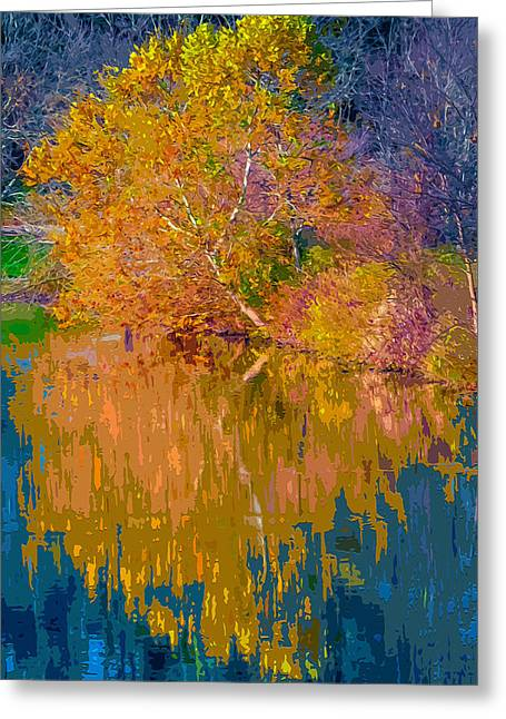 Autumn Reflections 2 Greeting Card