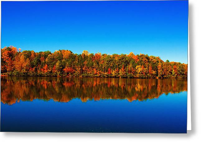 Greeting Card featuring the photograph Autumn Reflections by Andy Lawless