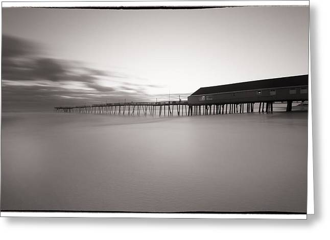 Avalon Fishing Pier Greeting Card