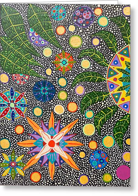 Ayahuasca Vision Greeting Card