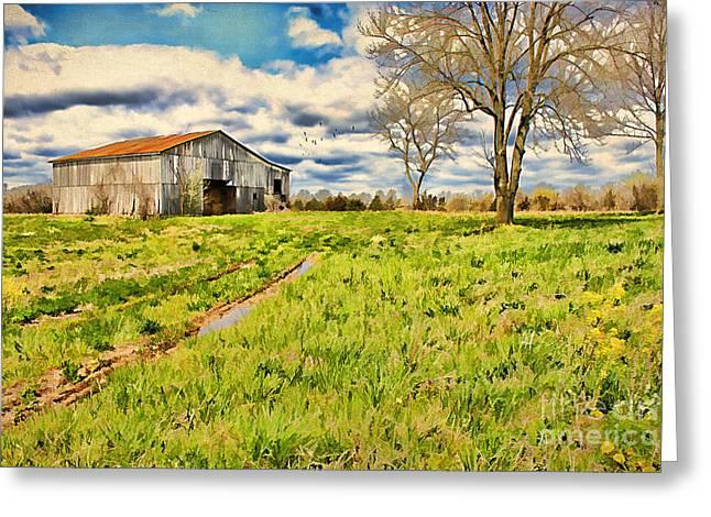 Back Roads Of Kentucky Greeting Card by Darren Fisher