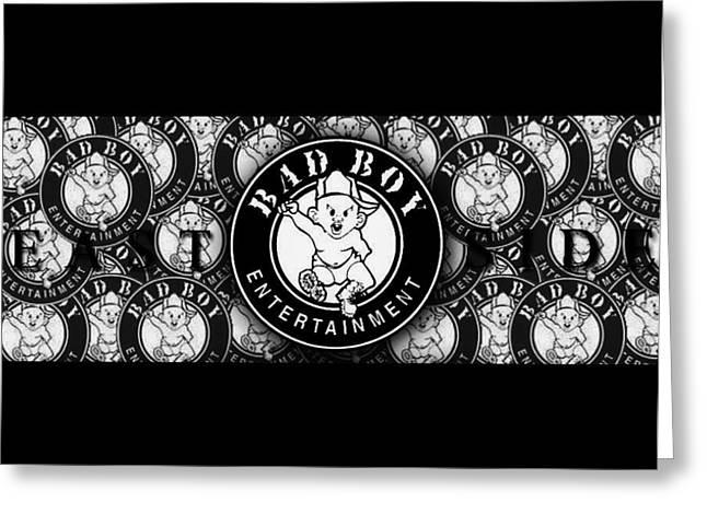 Bad Boy Logo Greeting Card by Bad  Boy