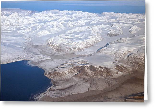 Baffin Island In The Arctic Northern Canada Greeting Card by Pierre Leclerc Photography