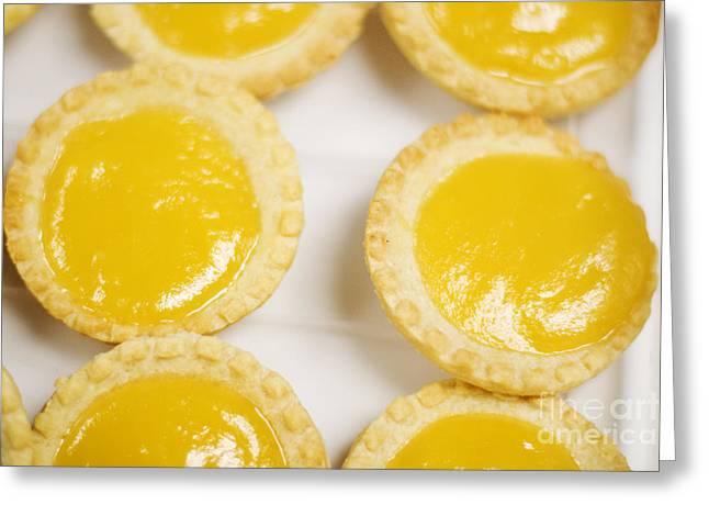 Baked Lemon Tarts Greeting Card