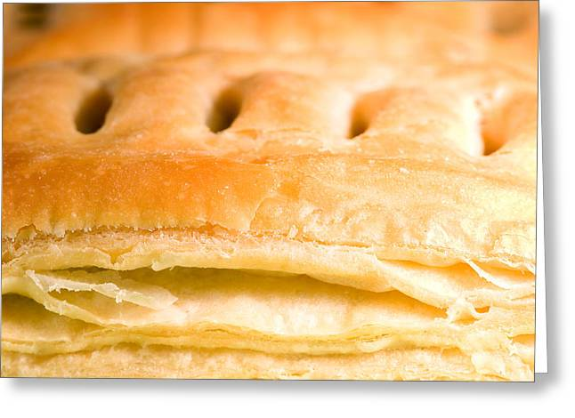 Baked Pastry Greeting Card